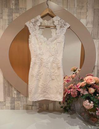 Vestido novia o fiesta