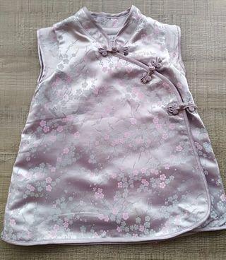 Vestido H&M bebé tipo kimono nuevo