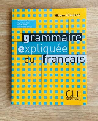 Libro Francés (Grammaire expliquée du français)