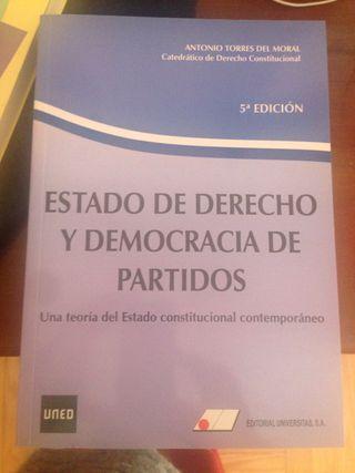 Estado de derecho y democracia de partidos. Nuevo