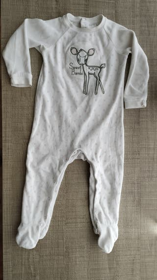 Pijama bebé Disney T:12-18m.Ropa bebé.