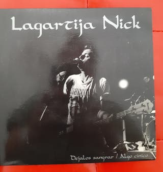 Single Vinilo Lagartija Nick