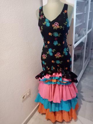 Traje flamenca fiesta t.36