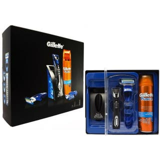 PACK GILLETTE MAQUINILLA STYLER + GEL FUSION5 200M