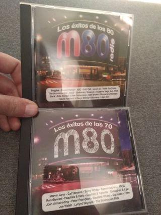 Los éxitos de M80 años 70 y 80