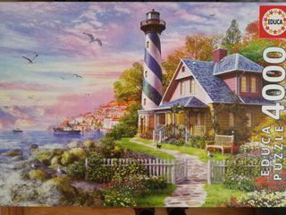 puzzle 4000 piezas faro