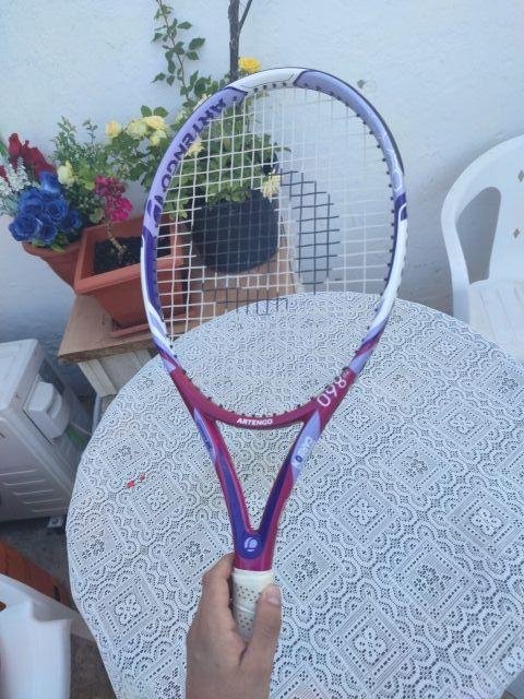 Raqueta tenis Fibra de carbono