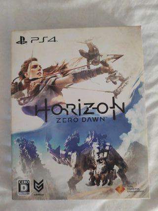 Horizon Zero dawn Ps4 + Libro de arte