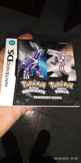 instrucciones pokemon diamante y perla de nds