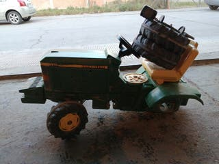 tractor pedales