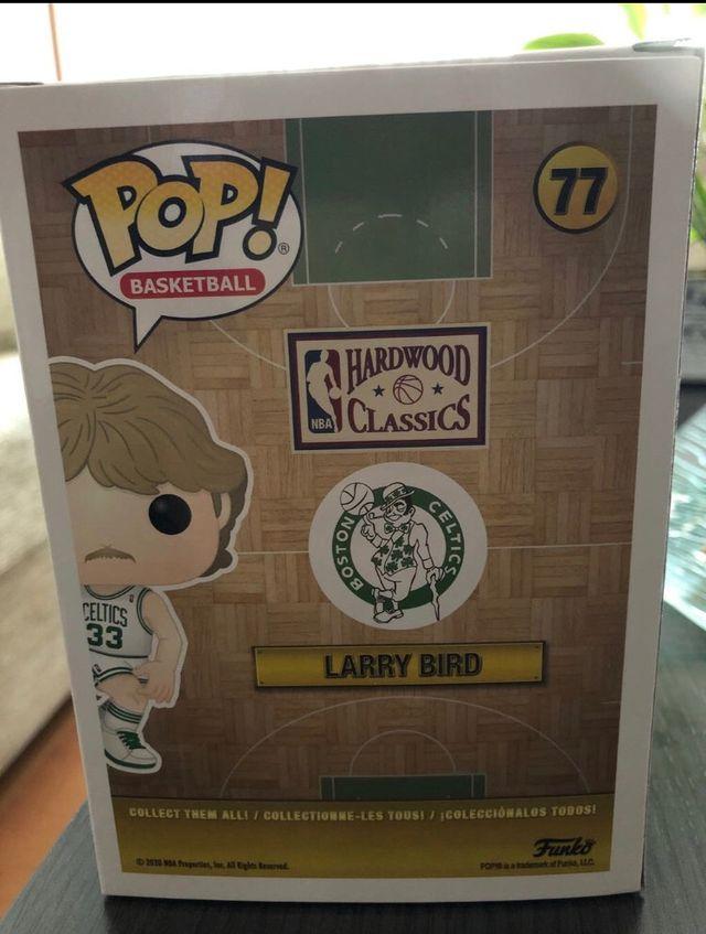 FUNKO POP - LARRY BIRD , #77 (NBA),NUEVO