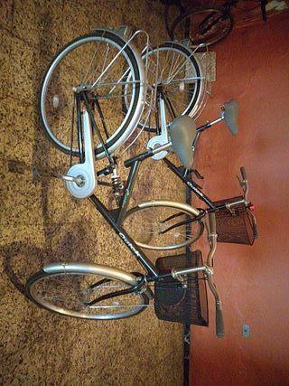 Dos bicicletas de paseo