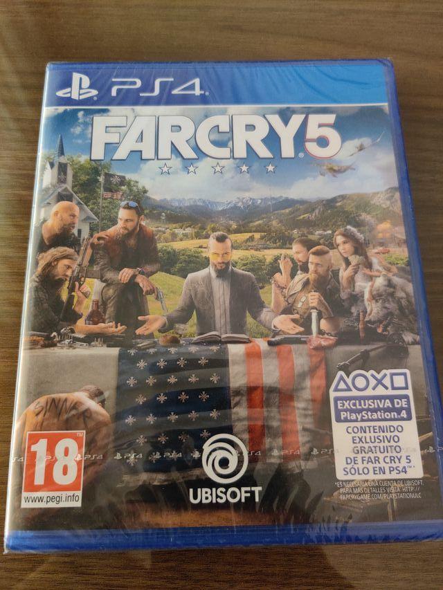 Farcry 5 precintado - PS4