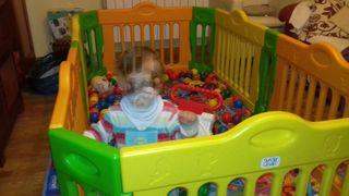 Parque infantil rectangular BABY VIVO