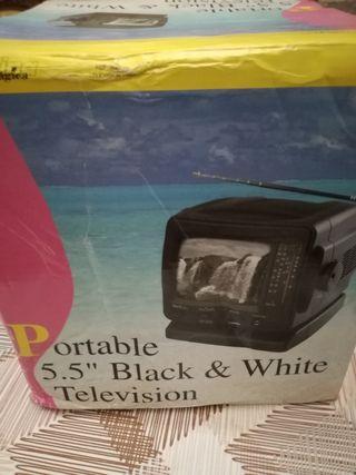 televisor portatil pequeño con radio
