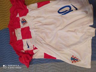 equipación de Croacia. Modric