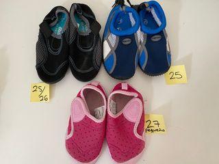 Muchos pares de zapatos niño - desliza -->