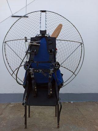 Paramotor Corsair black devil m21