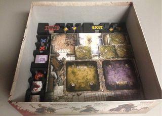 Organizador/ Inserto Zombicide Black Plague