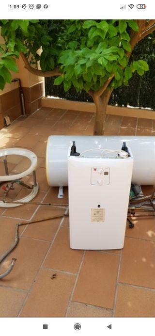 termo gas natural con acumulador y motor
