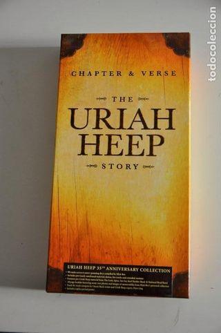 URIAH HEEP Chapter & Verse 1968-2005 Box-Set 6CDs