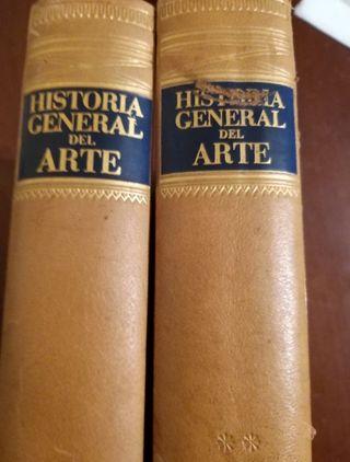 Historia General del Arte. 2 tomos VV. AA. Edito