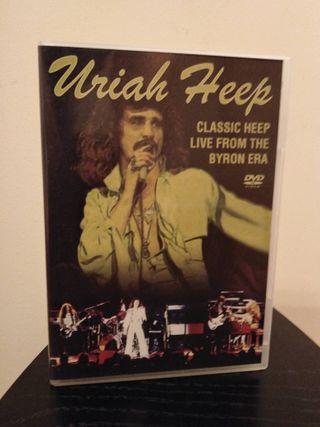 URIAH HEEP Classic Heep Live The Byron Era DVD