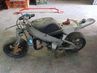 minimoto pocket bike Polini 910 carena