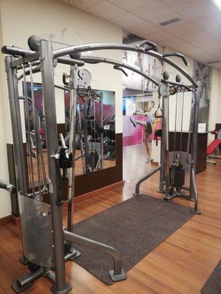 Venta de maquinas fitness para gimnasio