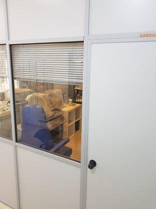 Mamparas divisorias para oficinas, consultas