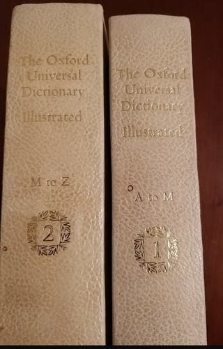 THE OXFORD UNIVERSAL DICTIONARY ILLUSTRATED. TOMOS