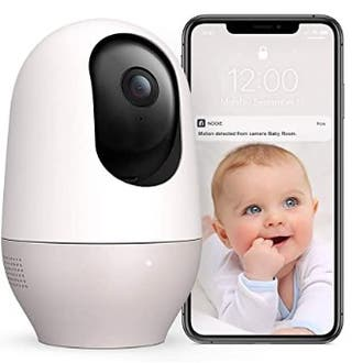 Baby monitor 1080p mobile camera