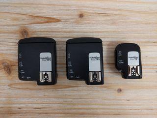 Pack de 2 Pocket Wizard FlexTT5 y 1 MiniTT1