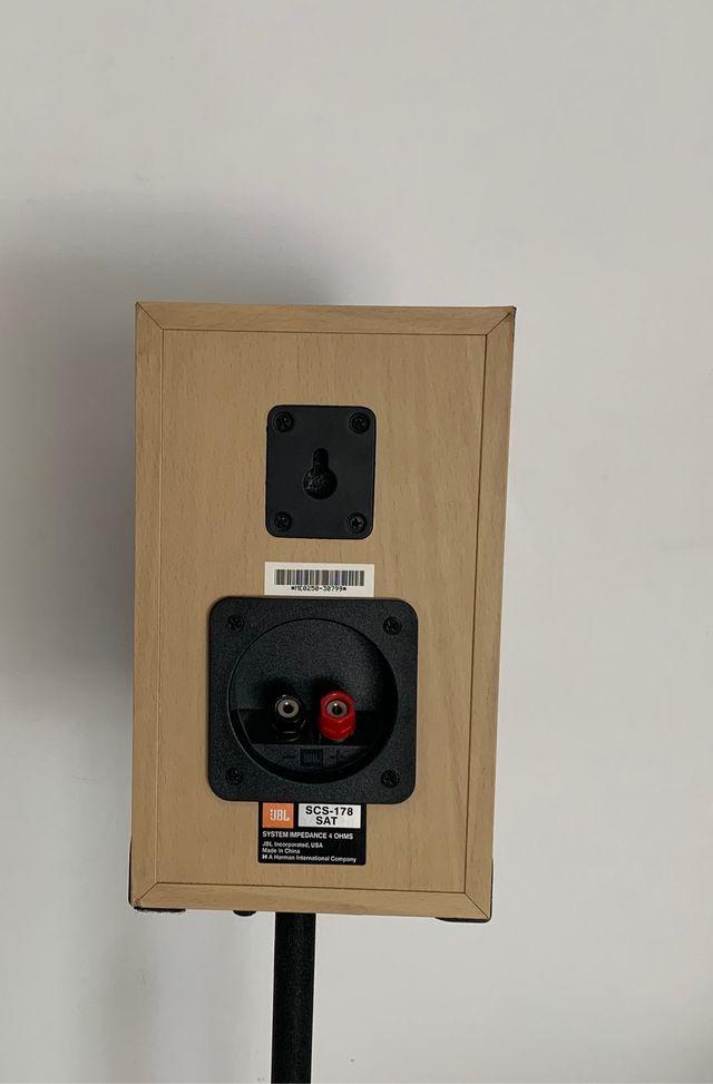 Equipo Altavoces JBL SCS 178 para Home Cinema