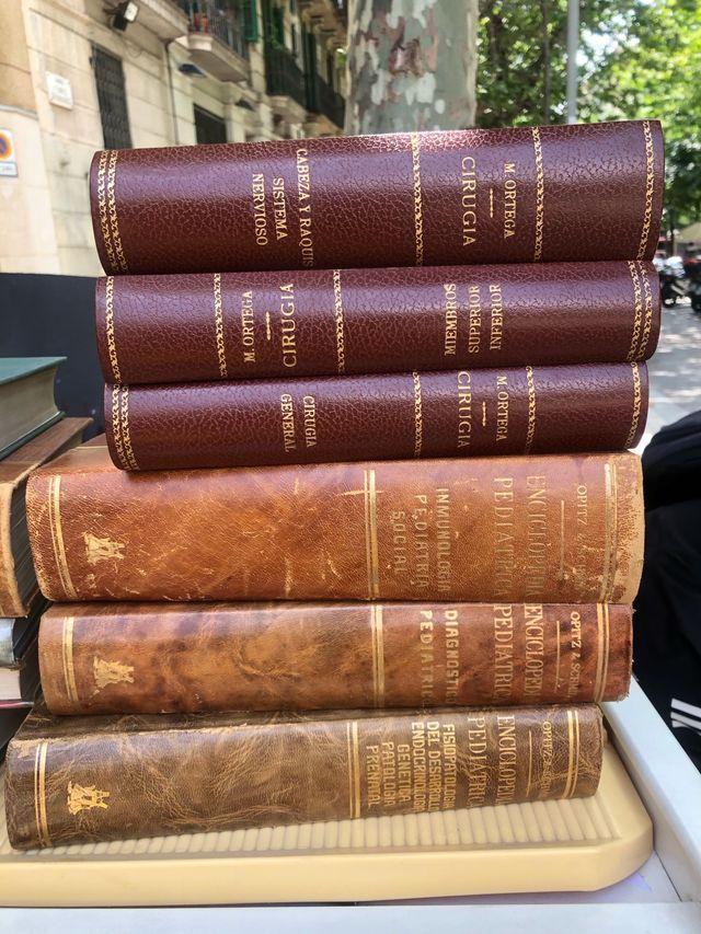 Libros antiguos medicina 1960 Decoración