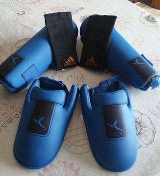 protección kickboxing