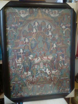 Pintura religiosa tibetana (Thangka)