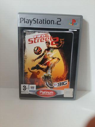 FIFA Street 2. Platinum. Completo. Ps2.