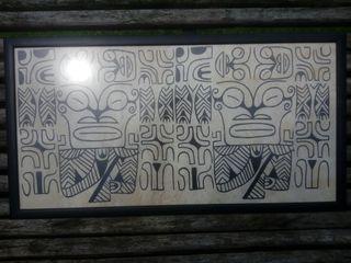 Pintura tribal polinesia