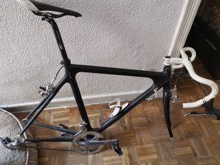 cuadro bici carbono
