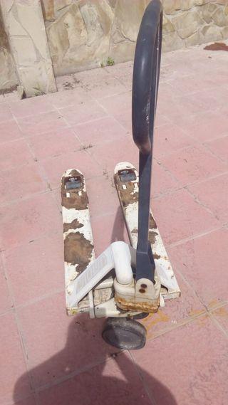 transpaleta para reparar