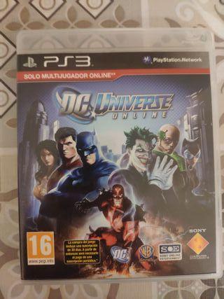 Videojuego DC Universe Online para PS3