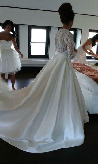vestido de pro novias talla S