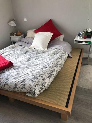Base de cama tatami