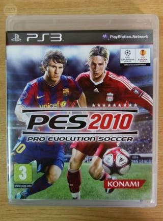 PS3 PES 2010 PRO EVOLUTION SOCCER