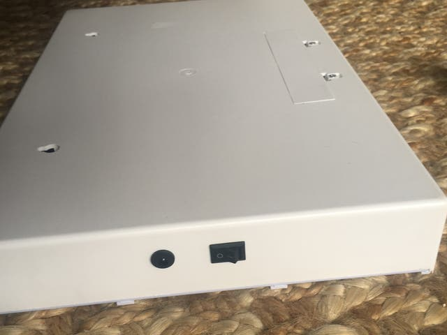 A3 Caja luminosa con mensajes lightbox LED