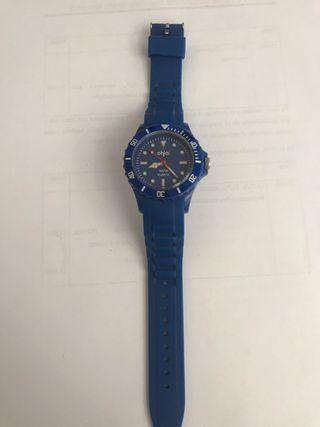 Reloj azul ohla!