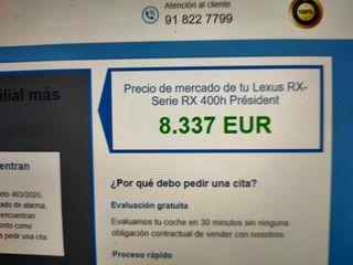 Lexus RX400h PRESIDENT