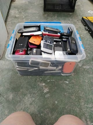 Lote de móviles para piezas