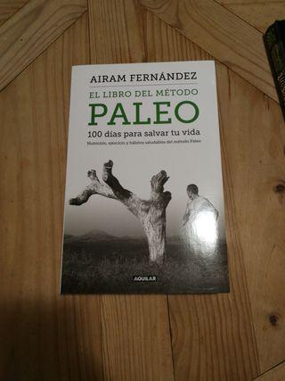 """Libro """"El libro del método paleo"""" de Airam Fernánd"""